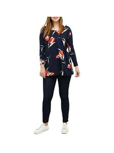 STUDIO 8 Clover Printed Top Size UK 220  Rrp £55  *Brand New with Tags*