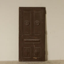 Antique Brown Painted Vintage Door, Great to Use As Sliding Interior Door