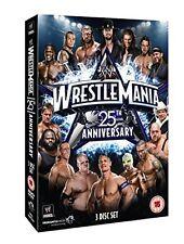 WWE - Wrestle Mania 25th Anniversary (DVD, 2009, 3-Disc Set) New  Region 4