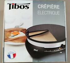 Tibos Krampous Electric Crepe Maker Made in France Good Condition