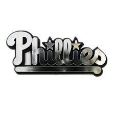 Philadelphia Phillies Plastic Auto Chrome Team Emblem W/Adhesive Tape