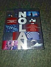 Christopher Nolan Collection 4K UHD + Blu-Ray + 5 DVD New and Sealed - 7 Movies+