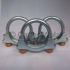 3 Stück  Auspuffschelle, Bügelschelle, Rohrschelle,   für Ford   M10  Ø55mm