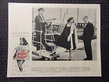 """1964 LA BONNE SOUPE Original 14x11"""" Lobby Card #5 VG+ 4.5 Annie Girardot"""