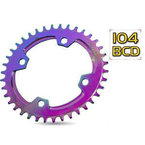 Parts Positive and Negative Teeth Chainring Chainwheel Tooth Plate Crankset