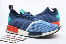 ADIDAS NMD R1 PK USED SIZE 10.5 PACKER SHOES BLUE RED GREEN BB5051 CONSORTIUM