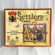 Settlers of Catan 483 Sealed Cards Unpunched 488 Expansion Sealed Unpunched