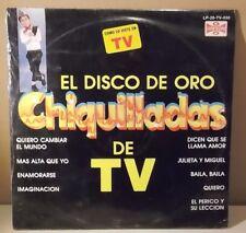 "Chiquilladas ""El disco de oro"" Programa TELEVISA | LP SEALED NEW | Chiquidracula"