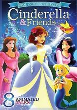 Royal Princess Collection: Cinderella & Friends (DVD, 2015)