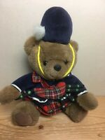 "13"" BEAR OF SCOTLAND Keels Toy SIMPLY SOFT COLLECTION Plush Teddy Scottish Piper"