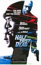 HALF PAST DEAD MOVIE POSTER Original Mini-Sheet STEVEN SEAGAL MORRIS CHESTNUT