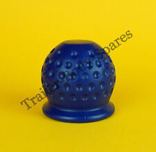FREE UK Post - BLUE Dimple Towball Cover Cap fits Standard 50mm Trailer Towball