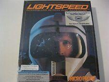"Lightspeed Interstellar Action and Adventure PC game complete 5.25"" disks"