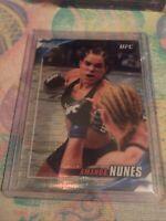 Amanda Nunes 2019 Topps Ufc Chrome Knockout Pulsar Refractor 43/50