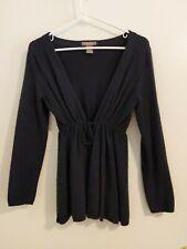 New listing Womens Kenar Sweater Cardigan Top - Black - Size Small - Wool Angora Blend