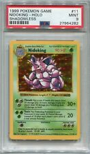 Pokemon Card Unlimited Shadowless Nidoking Base Set 11/102, PSA 9 Mint