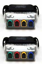 2 NEW Guitar Hero On Tour HAND GRIPS nintendo NDS DSL DS Lite Handheld game WOW