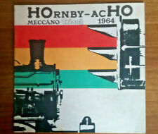 catalogue  meccano TRIANG   HOrnby  acHO   1964...  superbe