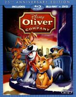 Oliver & Company: 25th Anniversary Edition (Blu-ray/ DVD Combo Pack), New