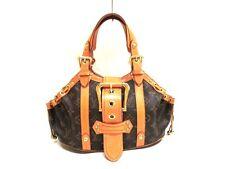 Authentic LOUIS VUITTON Monogram Theda PM M92399 Handbag FL0054