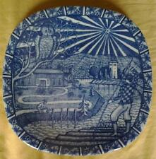 RORSTRAND SWEDEN JULEN 1977 LIMITED EDITION CHRISTMAS PLATE