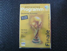 Teams F-K World Cup Final Football Programmes