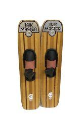 Vintage Wooden Cypress Gardens Trik-Master Water Skis Vtg Ski Antique Sports
