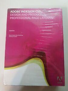 2007 Adobe InDesign CS3 Upgrade for Macintosh BRAND NEW SEALED