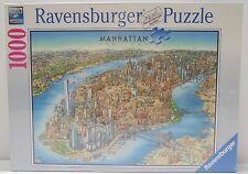 Ravensburger Manhattan New York Map Jigsaw Puzzle 1000-Piece