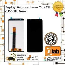 DISPLAY LCD TOUCH SCREEN ASUS ZENFONE MAX M1 ZB555KL NERO X00PD SCHERMO VETRO