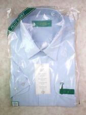 VINTAGE staccabile MARCELLA Camicia Con Colletto Taglia 15 abiti da sera MASCHILE COTONE BIANCO