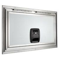 "Square RV Baggage Door Compartment Storage 24"" W X 12"" H Trailer Storage"