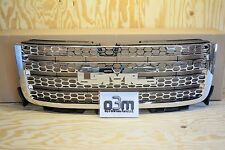 2011-2013 GMC Sierra 2500 3500 Crew Cab Front Grille Chrome new OEM 20966057