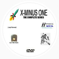 X MINUS ONE - 127 Shows Old Time Radio In MP3 Format OTR On 1 DVD