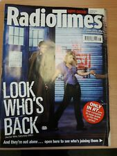 Radio Times 15-21 April 2006 Doctor Who Series 2 inc fold out cover.