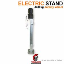 TROJAN ELECTRIC PARK LEG STAND 3400kg CARAVAN JOCKEY 5TH WHEELER