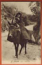 CPA - Type Corse - Homme sur son Ane - Edit.J.Moretti - Bastia//Réf.A67