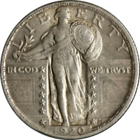 1920-P Standing Liberty Quarter Great Deals From The Executive Coin Company