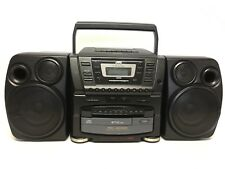 VINTAGE JVC PC-XC60 BOOMBOX - 10 DISC CD CHANGER / AM FM RADIO / CASSETTE PLAYER