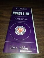 OCTOBER 1956 ACL ATLANTIC COAST LINE RAILROAD PUBLIC TIMETABLE