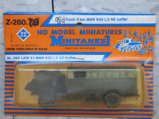 Roco Minitanks (NEW) 1/87 Modern West German Man 630 L2 AE 5T 4x4 Truck Lot 2089