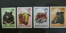 POSTAGE STAMP SET - BHUTAN ANIMALS