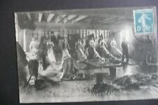 More details for tannery at henrichement,cher,original french printed postcard