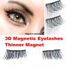 1 Pair Magnetic 3D False Eyelashes No Glue Thinner Magnet Extension Eye Lashes