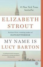 My Name Is Lucy Barton by Elizabeth Strout (2016, Paperback) pre-owned