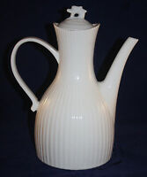 MID CENTURY ERNEST SOHN WHITE LARGE COFFEE POT BY HALL