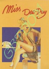 CPSM Pin-up Miss Dee-Day - AVIREX - Nue Nude girl - Jour J