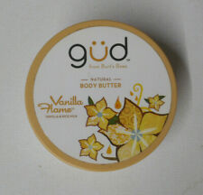 6oz GUD by BURTS BEES NATURAL BODY BUTTER VANILLA FLAME sealed