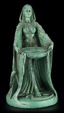Danu Figura - Celta Madre Diosa Antik-Grün - Estatua Decorativa Wicca Magia
