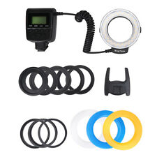 48 LED Macro Ring Flash Speedlite Light RF-550D for Canon Nikon DSLR Camera SG